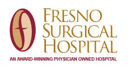 Fresno surgical hospital logo